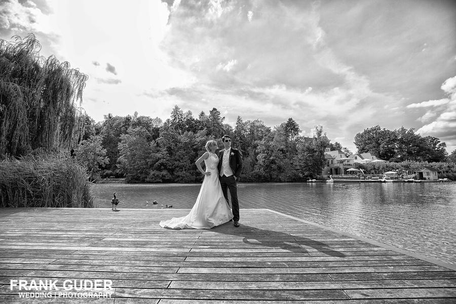 Brautpaar im Kurpark Bad Nauheim