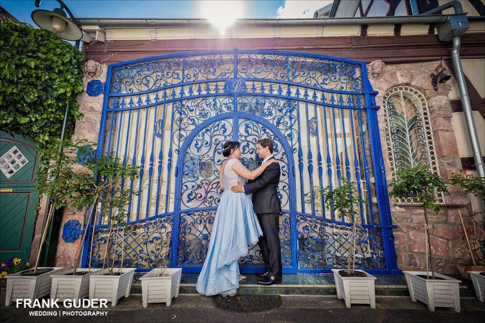 Brautpaar in der Altstadt Dreieichenhain