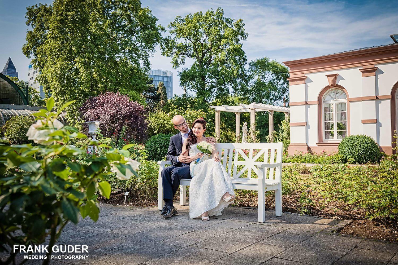 Hochzeit im Palmengarten Frankfurt