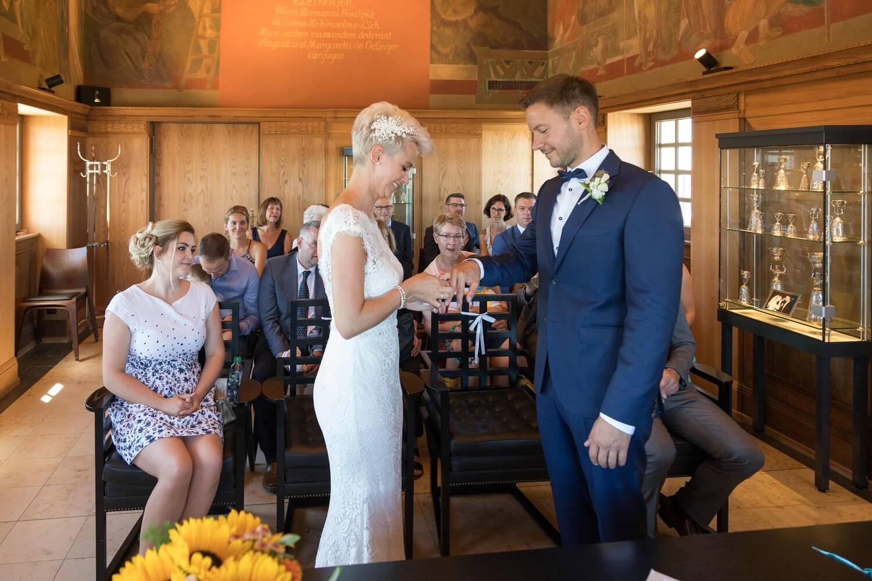 Hochzeit im Fünffingerturm in Darmstadt