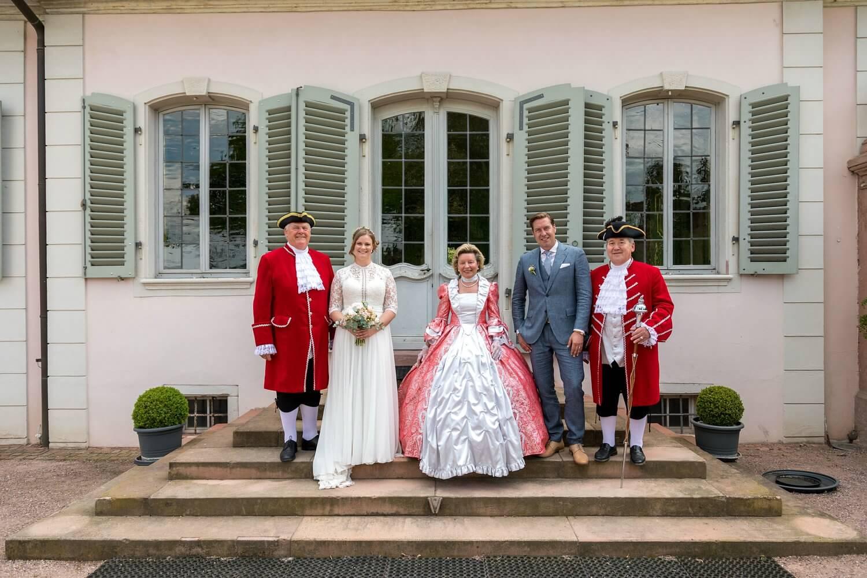 Hochzeitsreportage Schloss Braunshardt